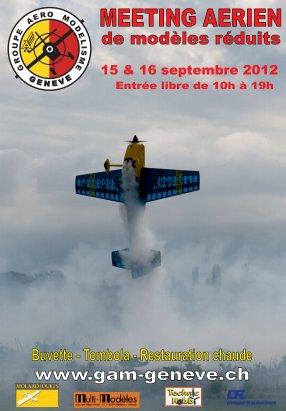 Meeting du GAM Genève : 15 & 16 Septembre 2012
