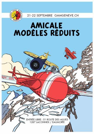 Amicale Modèles réduits - 21& 22 septembre 2019