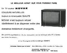 Nuisances sonores relatives au modelisme en 1975