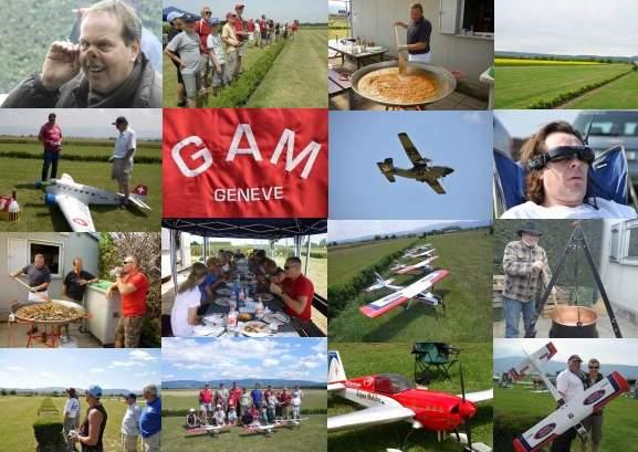 Rencontre interclubs au GAM Athénaz le samedi 4 juin 2011