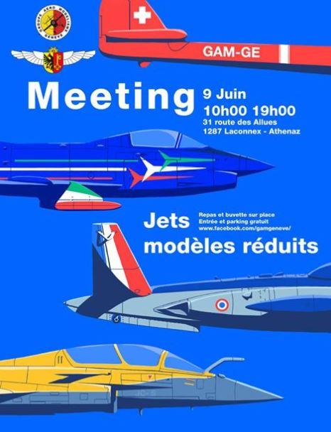 9 Juin 2018 : Meeting Jet au Gam Genève